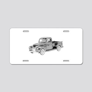 Ford Pickup 1940 -colored Aluminum License Plate