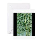 Bamboo Stalks Greeting Card