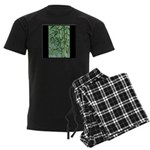 Bamboo Stalks Men's Dark Pajamas