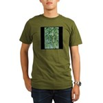 Bamboo Stalks Organic Men's T-Shirt (dark)