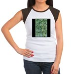 Bamboo Stalks Women's Cap Sleeve T-Shirt