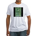Bamboo Stalks Fitted T-Shirt