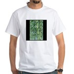 Bamboo Stalks White T-Shirt