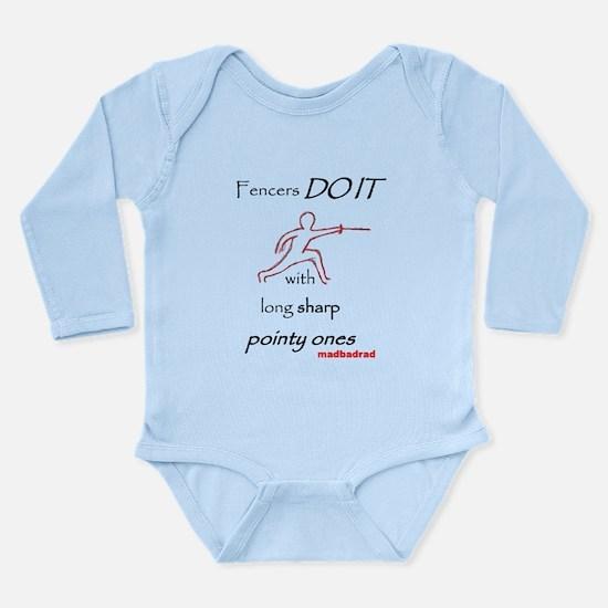 Fencers Do It Long Sleeve Infant Bodysuit