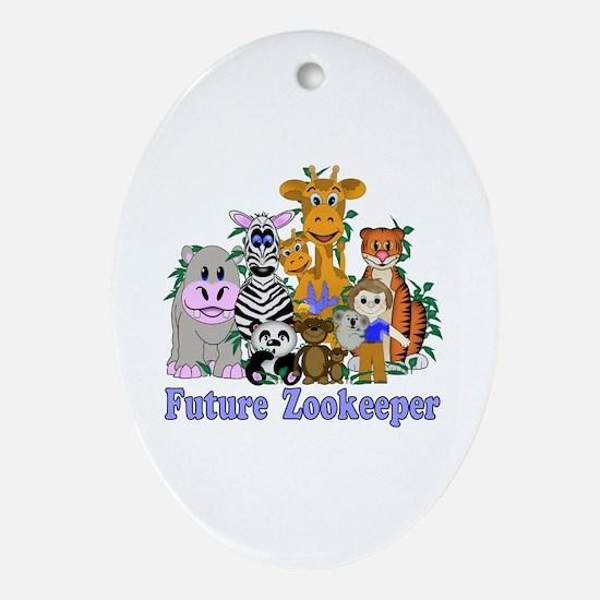 Future Zookeeper Ornament (Oval)