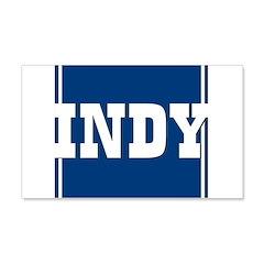 Indy 22x14 Wall Peel