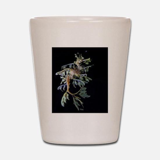Leafy Seadragon with Mysid Shot Glass
