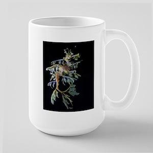 Leafy Seadragon with Mysid Large Mug