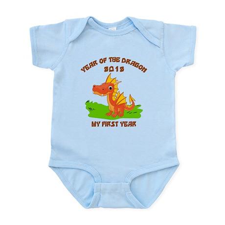 Born Year of The Dragon 2012 Infant Bodysuit