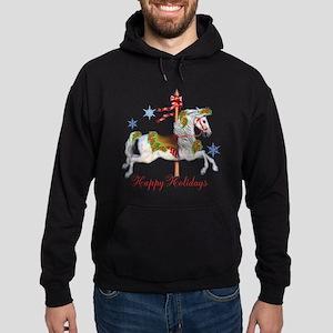 Christmas Carousel Hoodie (dark)