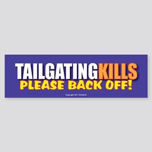 TG 7 TG Kills Bumper Sticker