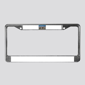 Double Trouble The Stand Off License Plate Frame
