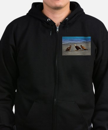 Double Trouble The Stand Off Zip Hoodie (dark)