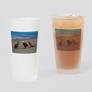 Double Trouble The Stand Off Drinking Glass