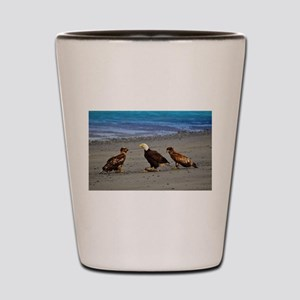 Double Trouble The Stand Off Shot Glass
