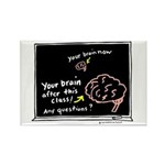 Your Brain Rectangle Magnet