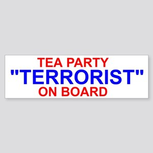Tea Party Sticker (Bumper)
