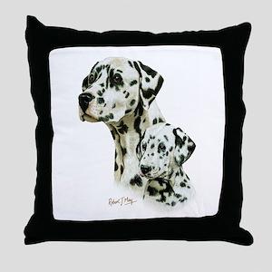 Dalmatian Throw Pillow