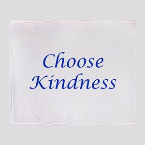 Choose Kindness Throw Blanket