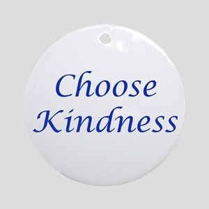 Choose Kindness Ornament (Round)