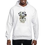 Dalmatian Hooded Sweatshirt
