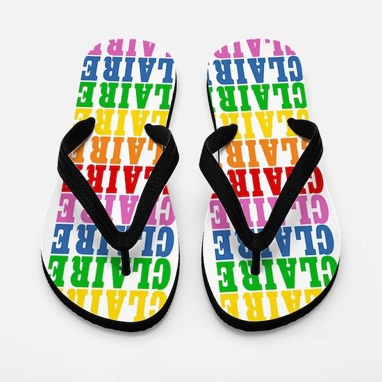 Unique Claires Flip Flops