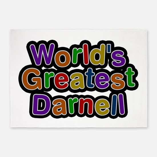 World's Greatest Darnell 5'x7' Area Rug