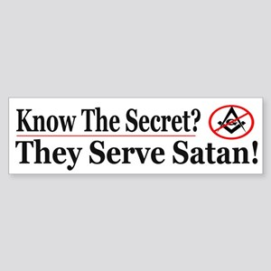 Know The Secret - Bumper Sticker