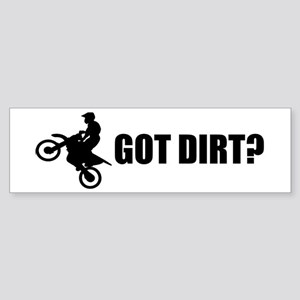 Dirt Bike Designs Bumper Sticker
