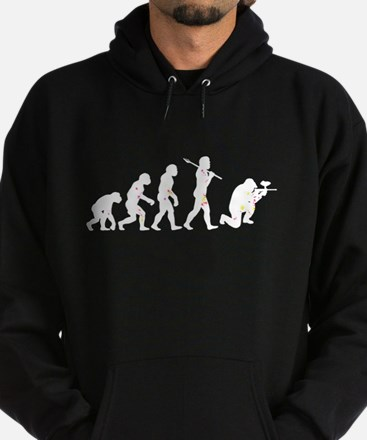 Evolved into a Paintballer Hoodie (dark)