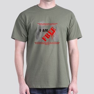 I AM FREE Dark T-Shirt