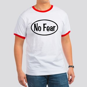 No Fear Oval Ringer T
