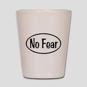 No Fear Oval Shot Glass