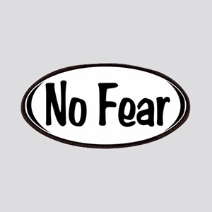 No Fear Oval Patches