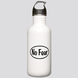 No Fear Oval Stainless Water Bottle 1.0L