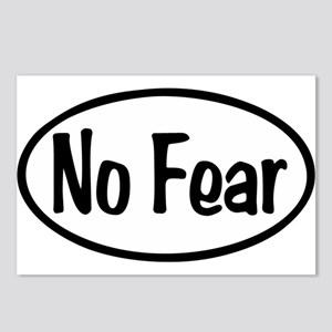 No Fear Oval Postcards (Package of 8)