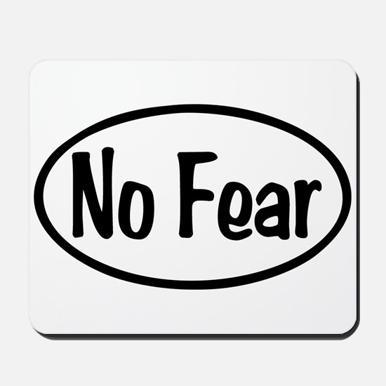 No Fear Oval Mousepad