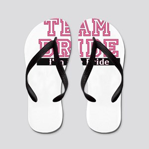 Team Bride: Im the Bride Flip Flops
