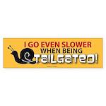 TG 36 I go slower Bumper Sticker