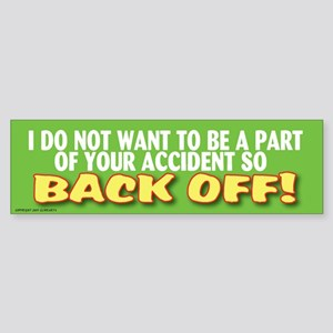 TG 40 I do not Bumper Sticker