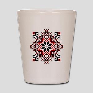 Folk Design 7 Shot Glass