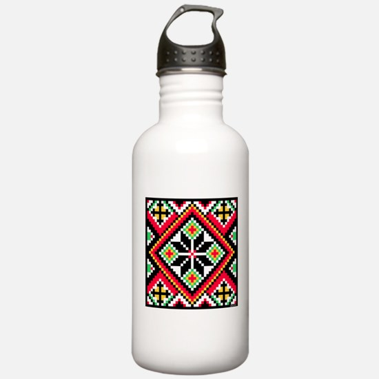 Folk Design 1 Water Bottle