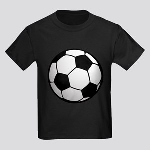 Fun Soccer Ball Kids Dark T-Shirt