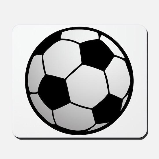 Fun Soccer Ball Mousepad