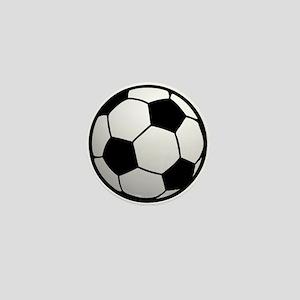 Fun Soccer Ball Mini Button