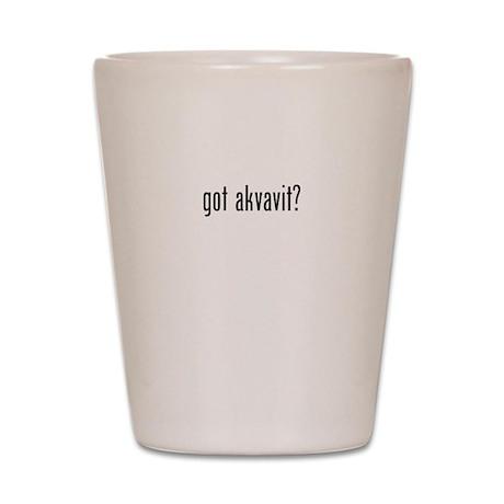 Got Akvavit Shot Glass