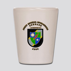 SOF - JSOC - Flash - Ranger Shot Glass