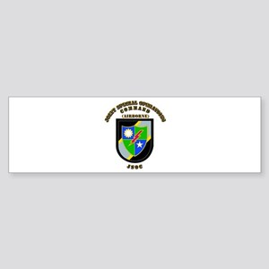 SOF - JSOC - Flash - Ranger Sticker (Bumper)