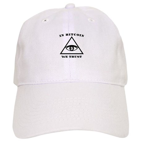 In Bitcoin We Trust Crypto Alt Currency Design Baseball Cap by ... 2f86dfe43ec6