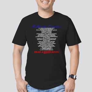 Read a Banned Book! Men's Fitted T-Shirt (dark)